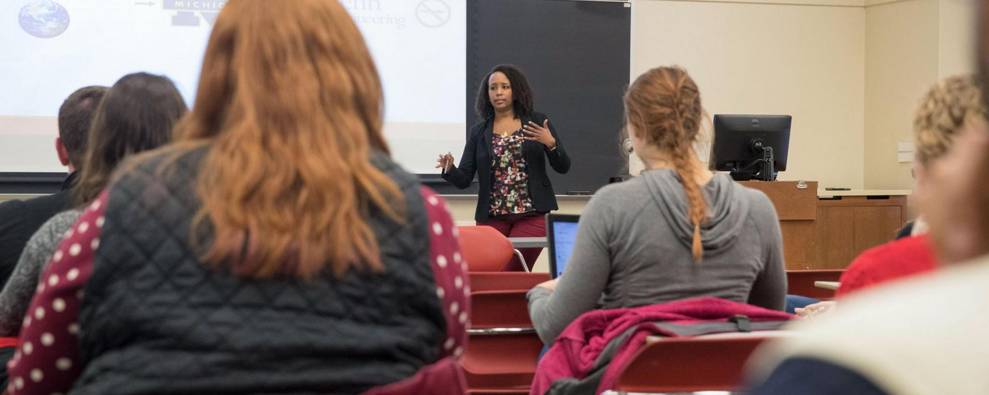 J-Term Class Focuses on Science Policy Careers image