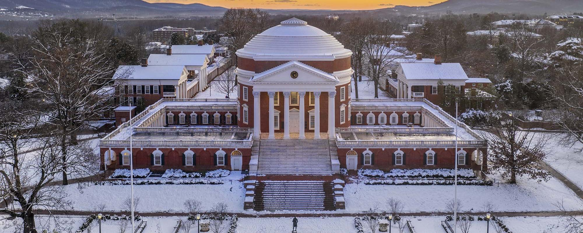 Rotunda in Snow